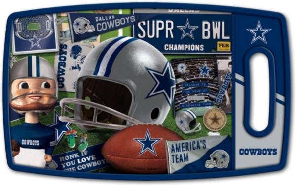 You The Fan Dallas Cowboys Retro Cutting Board product image