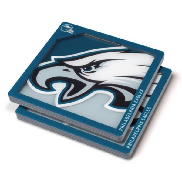 You the Fan Philadelphia Eagles Logo Series Coaster Set product image