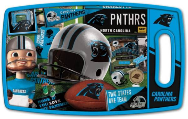 You The Fan Carolina Panthers Retro Cutting Board product image