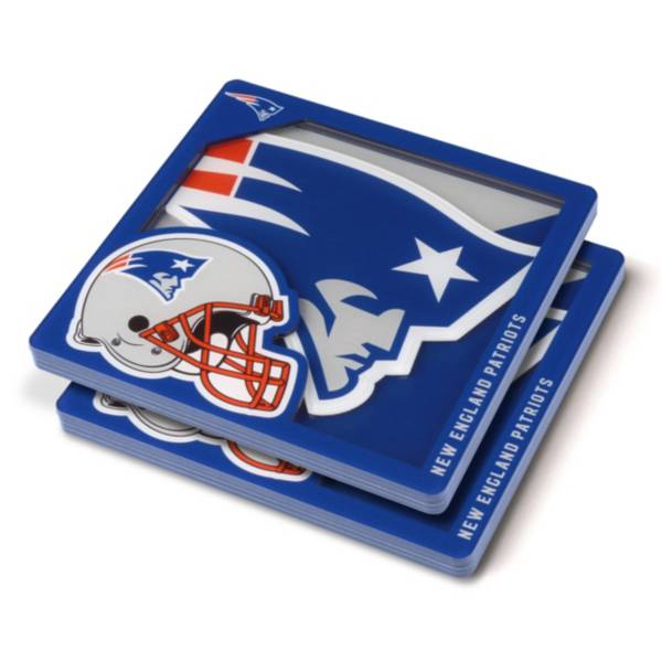 You the Fan New England Patriots Logo Series Coaster Set product image