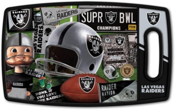 You The Fan Oakland Raiders Retro Cutting Board product image