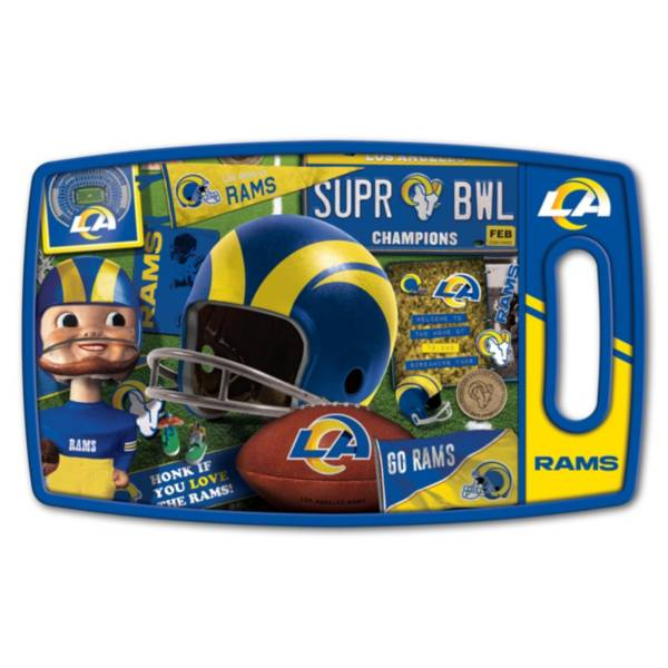 You The Fan Los Angeles Rams Retro Cutting Board product image