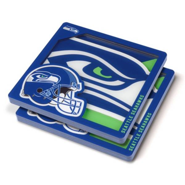You the Fan Seattle Seahawks Logo Series Coaster Set product image