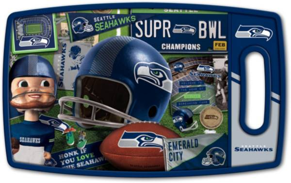 You The Fan Seattle Seahawks Retro Cutting Board product image