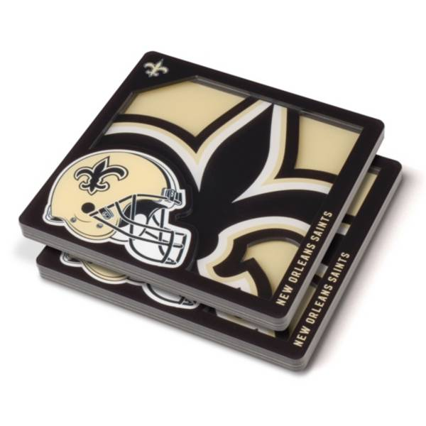 You the Fan New Orleans Saints Logo Series Coaster Set product image