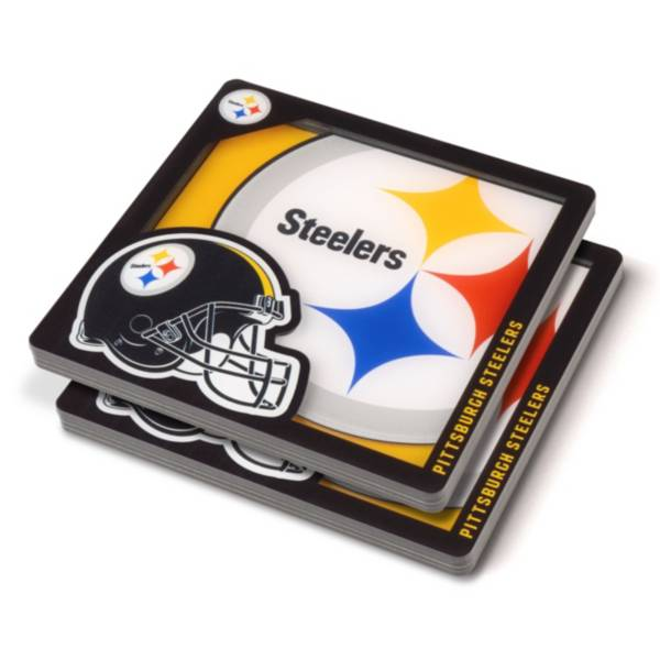 You the Fan Pittsburgh Steelers Logo Series Coaster Set product image