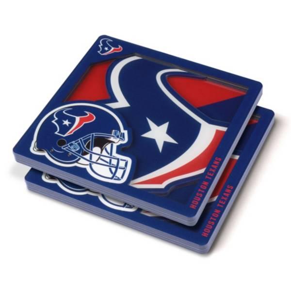 You the Fan Houston Texans Logo Series Coaster Set product image