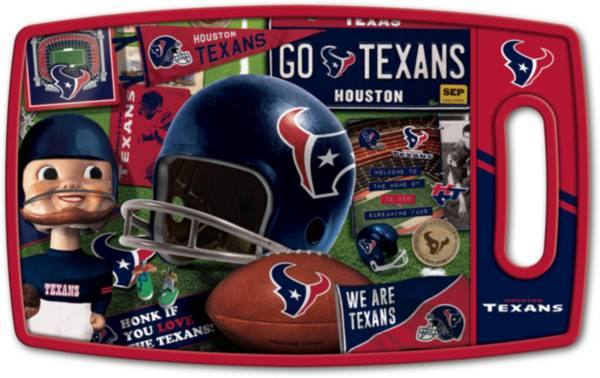 You The Fan Houston Texans Retro Cutting Board product image