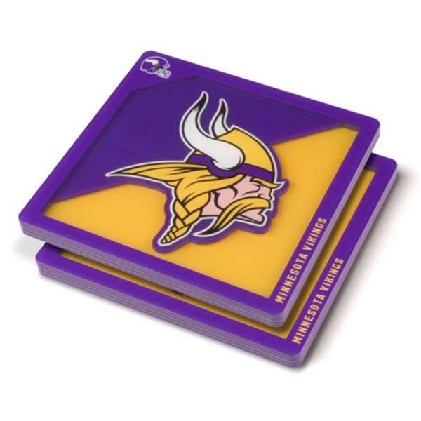 You the Fan Minnesota Vikings Logo Series Coaster Set product image