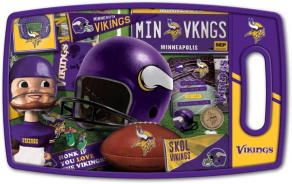 You The Fan Minnesota Vikings Retro Cutting Board product image