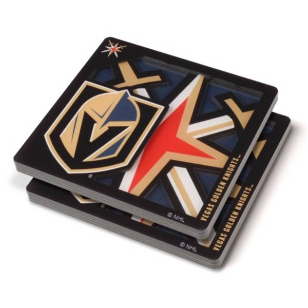 You the Fan Vegas Golden Knights Logo Series Coaster Set product image