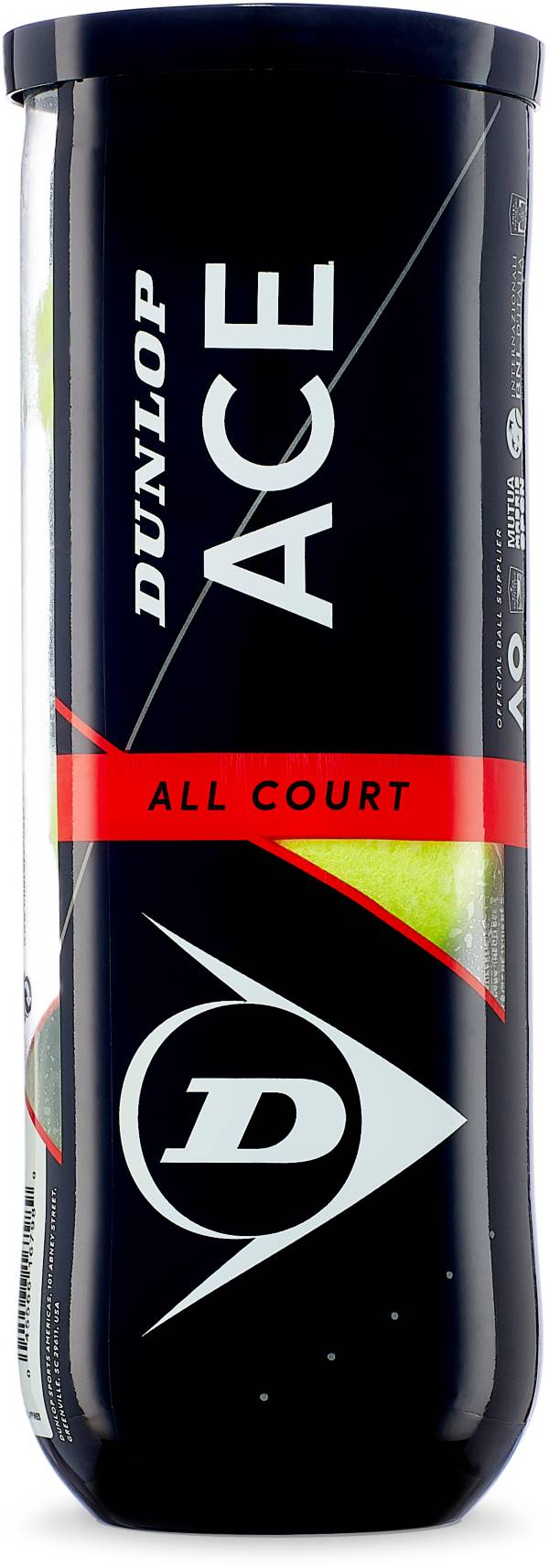 Dunlop Ace All Court 3-Ball Can product image