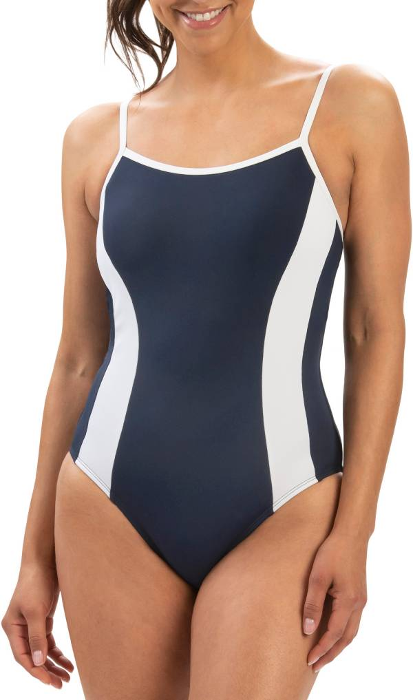 Dolfin Women's Aquashape Straight Back Moderate Lap One Piece Swimsuit product image