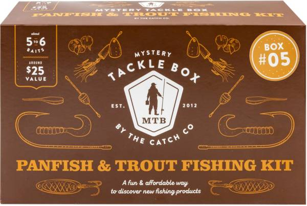 Mystery Tackle Box Trout & Panfish Kit product image