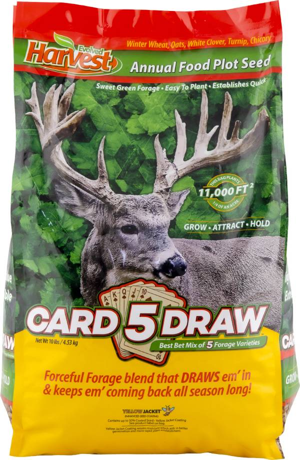 Evolved 5 Card Draw Food Plot Seed product image