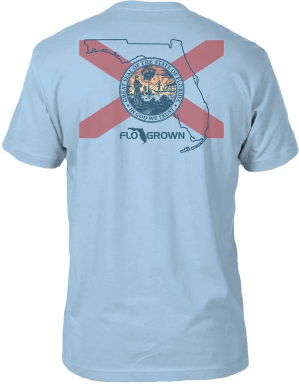 FloGrown Men's Intersect State Flag T-Shirt product image