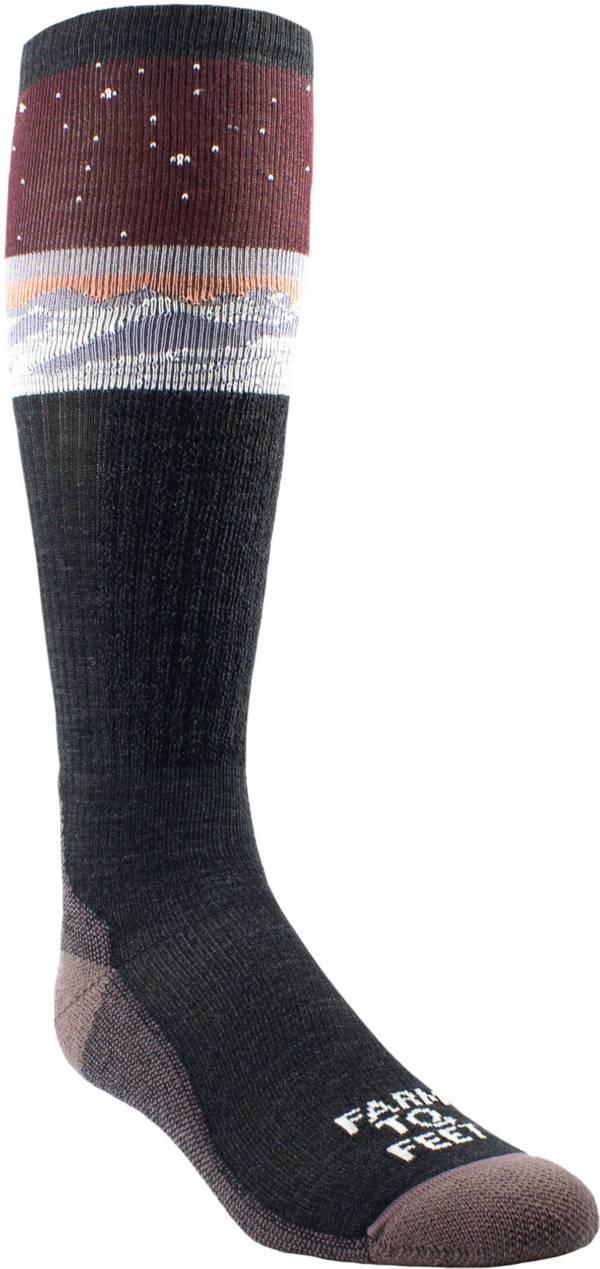Farm to Feet Aspen Light Targeted Cushion Over the Calf Snow Socks product image
