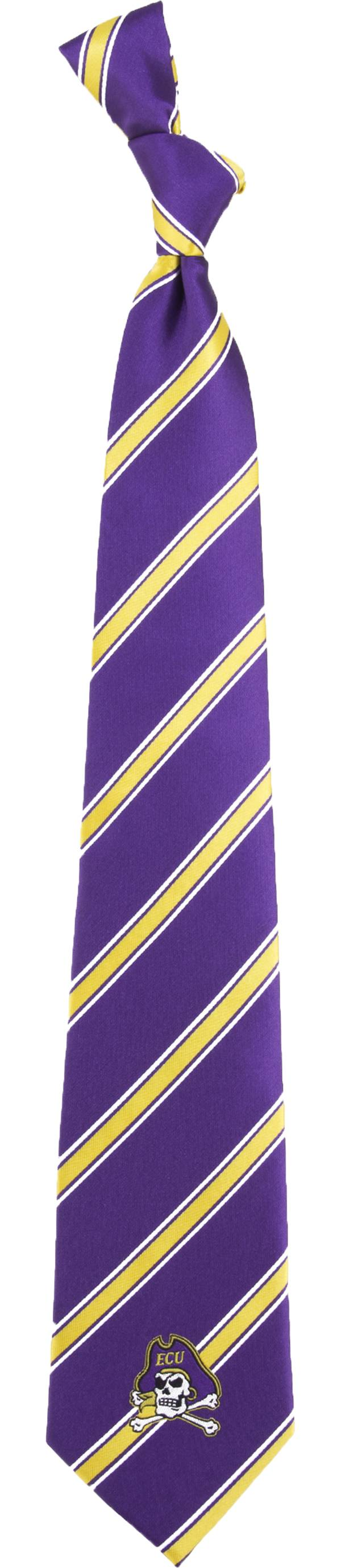 Eagles Wings East Carolina Pirates Woven Poly 1 Necktie product image