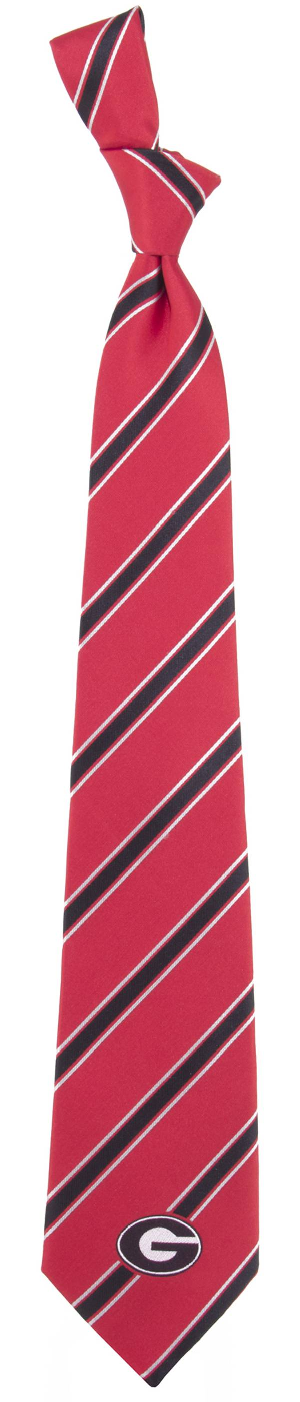 Eagles Wings Georgia Bulldogs Woven Poly 1 Necktie product image