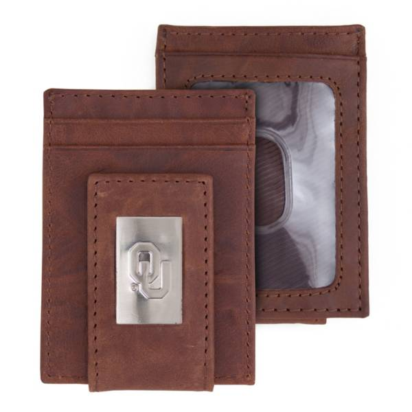 Eagles Wings Oklahoma Sooners Front Pocket Wallet product image