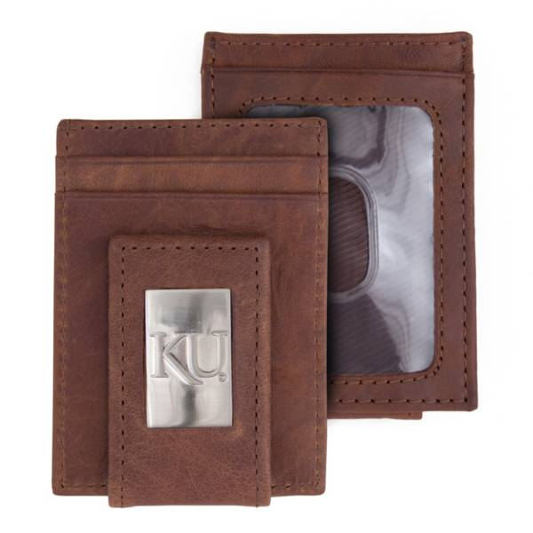 Eagles Wings Kansas Jayhawks Front Pocket Wallet product image