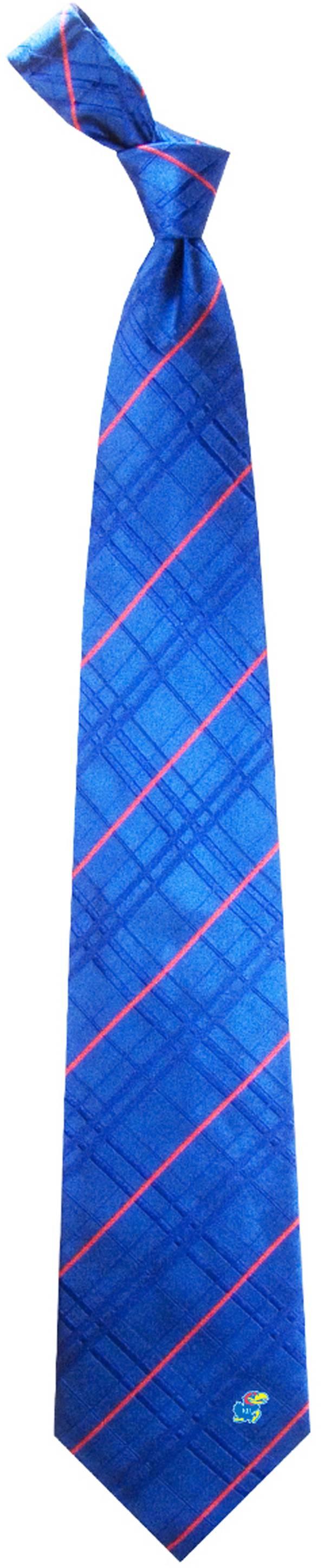 Eagles Wings Kansas Jayhawks Woven Oxford Necktie product image
