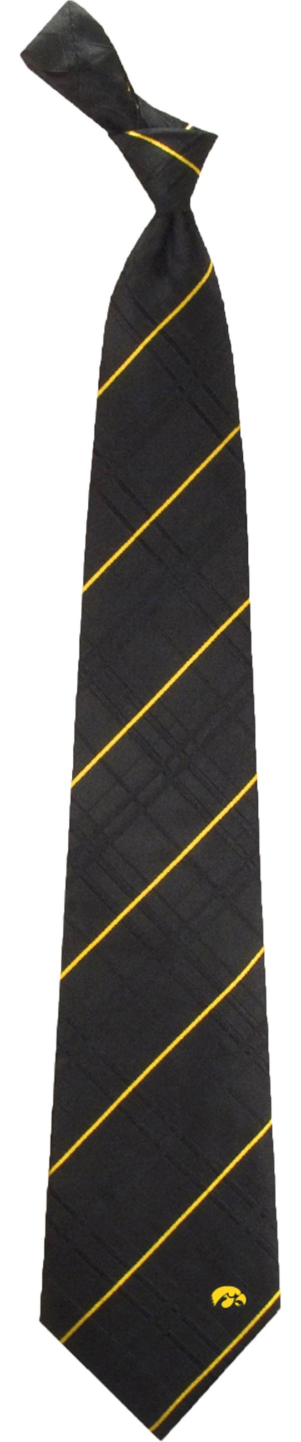 Eagles Wings Iowa Hawkeyes Woven Oxford Necktie product image