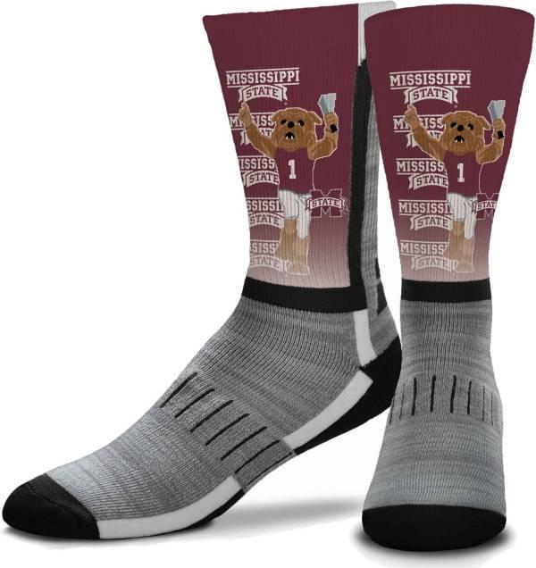 For Bare Feet Mississippi State Bulldogs Mascot Crew Socks product image