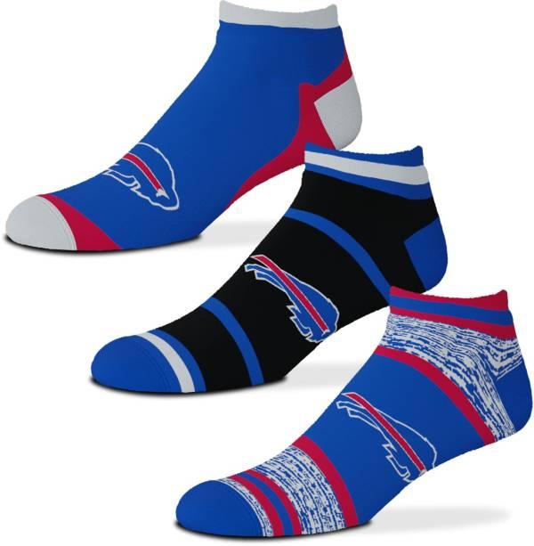 For Bare Feet Buffalo Bills 3-Pack Socks product image