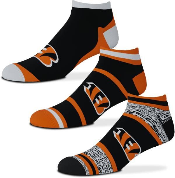 For Bare Feet Cincinnati Bengals 3-Pack Socks product image