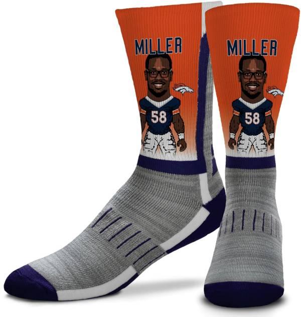 For Bare Feet Denver Broncos Von Miller Player Socks product image