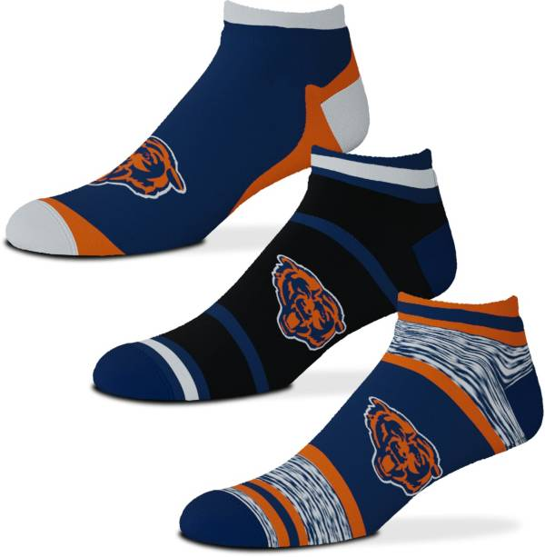 For Bare Feet Chicago Bears 3-Pack Socks product image