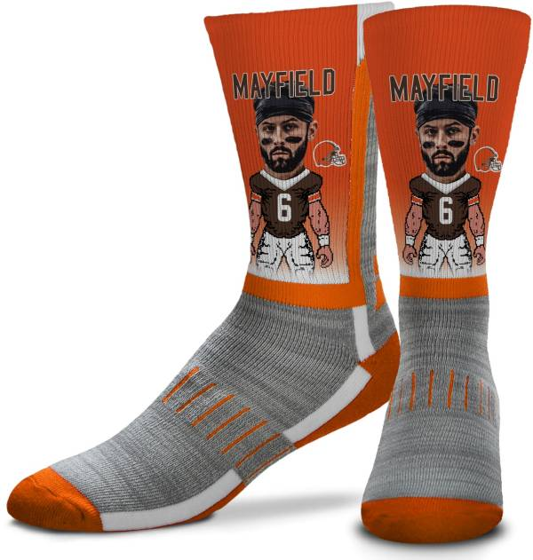 For Bare Feet Cleveland Browns Baker Mayfield Player Socks product image