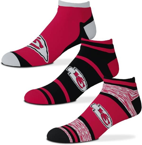 For Bare Feet Kansas City Chiefs 3-Pack Socks product image