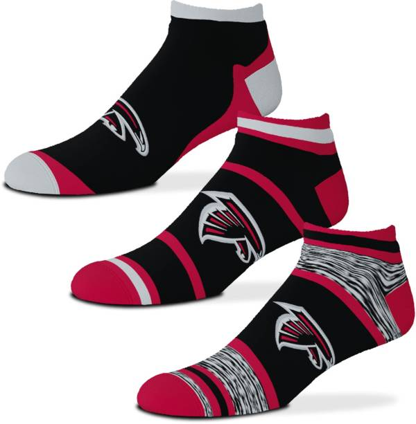 For Bare Feet Atlanta Falcons 3-Pack Socks product image