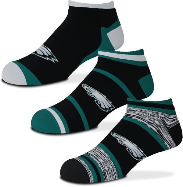 For Bare Feet Philadelphia Eagles 3-Pack Socks product image