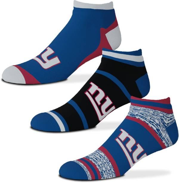 For Bare Feet New York Giants 3-Pack Socks product image