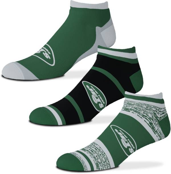 For Bare Feet New York Jets 3-Pack Socks product image