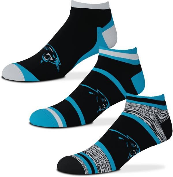For Bare Feet Carolina Panthers 3-Pack Socks product image