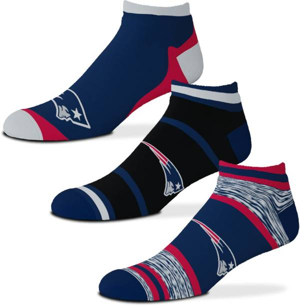 For Bare Feet New England Patriots 3-Pack Socks product image