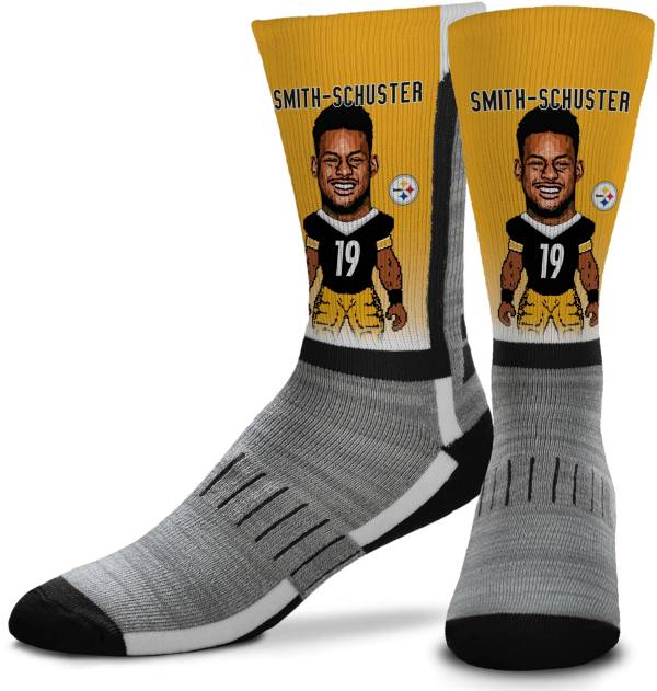 For Bare Feet Pittsburgh Steelers JuJu Smith-Schuster Player Socks product image