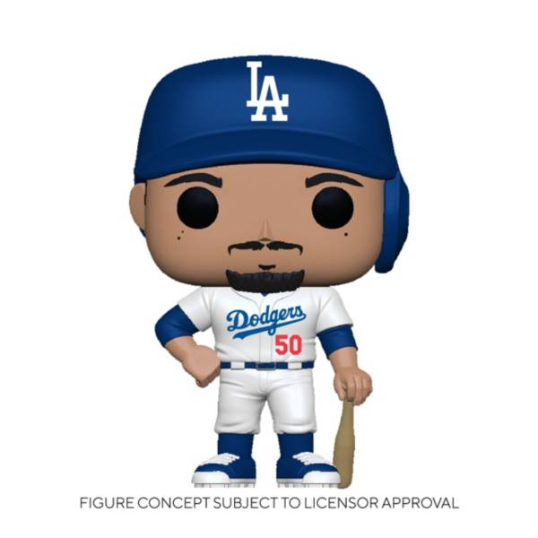 Funko POP! Los Angeles Dodgers Mookie Betts #50 Road Jersey Figure product image