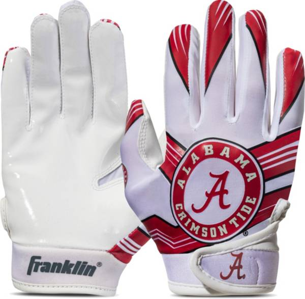 Franklin Youth Alabama Crimson Tide Receiver Gloves product image