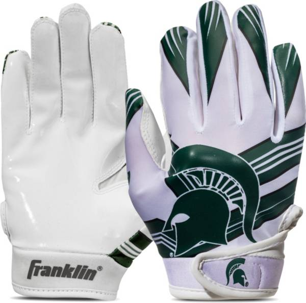 Franklin Youth Michigan State Spartans Receiver Gloves product image