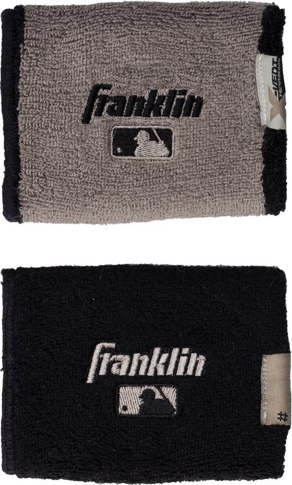 Franklin MLB X-Vent Reversible Wristbands - 2 Pack product image