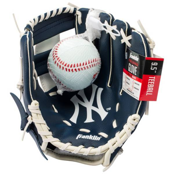 Franklin Youth New York Yankees Teeball Glove and Ball Set product image