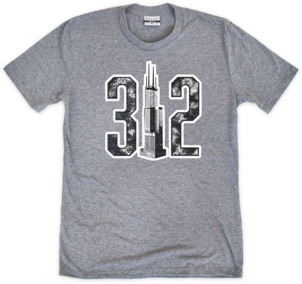Where I'm From 312 Skyline Grey T-Shirt product image
