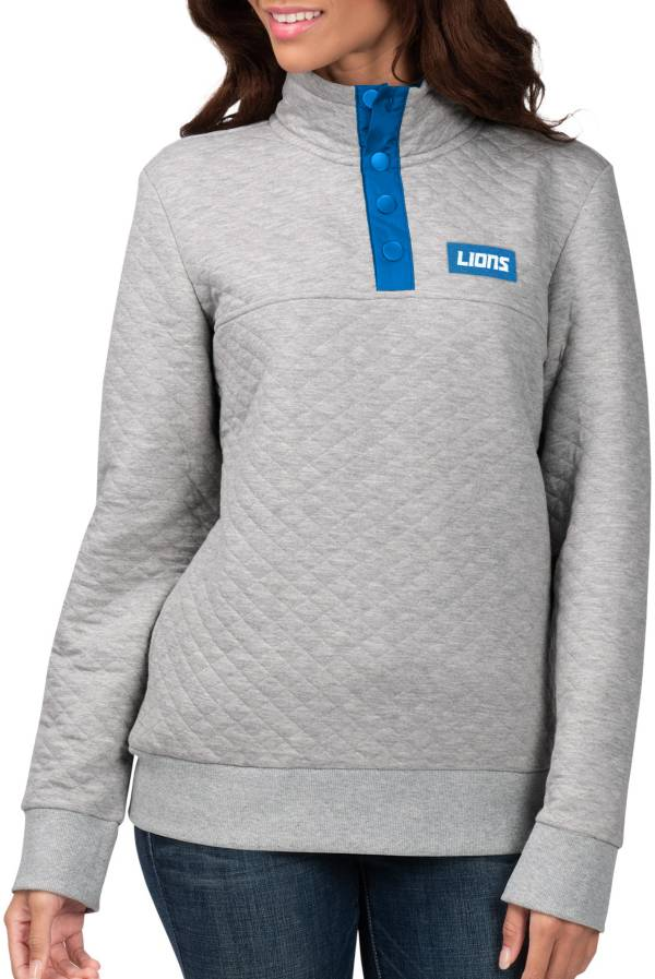 G-III for Her Women's Detroit Lions First Hit Quilted Pullover Jacket product image