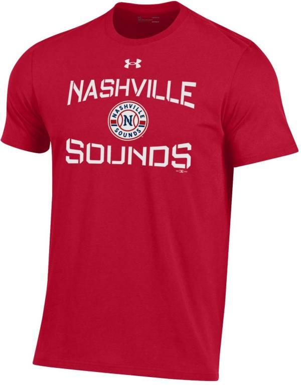 Under Armor Men's Nashville Sounds Red Baseball T-Shirt product image