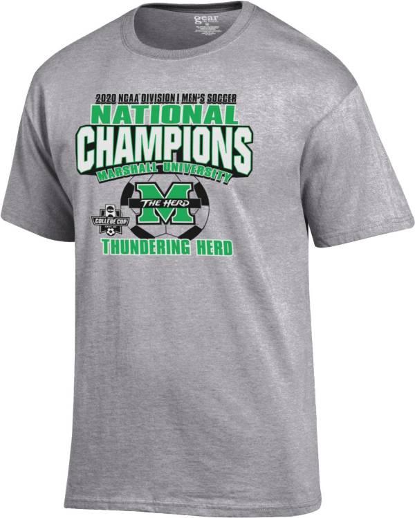Gear For Sports Men's Marshall Thundering Herd 2020 Division 1 Men's Soccer Champions Locker Room T-Shirt product image
